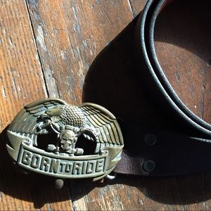 Other - Vintage Born to Ride belt